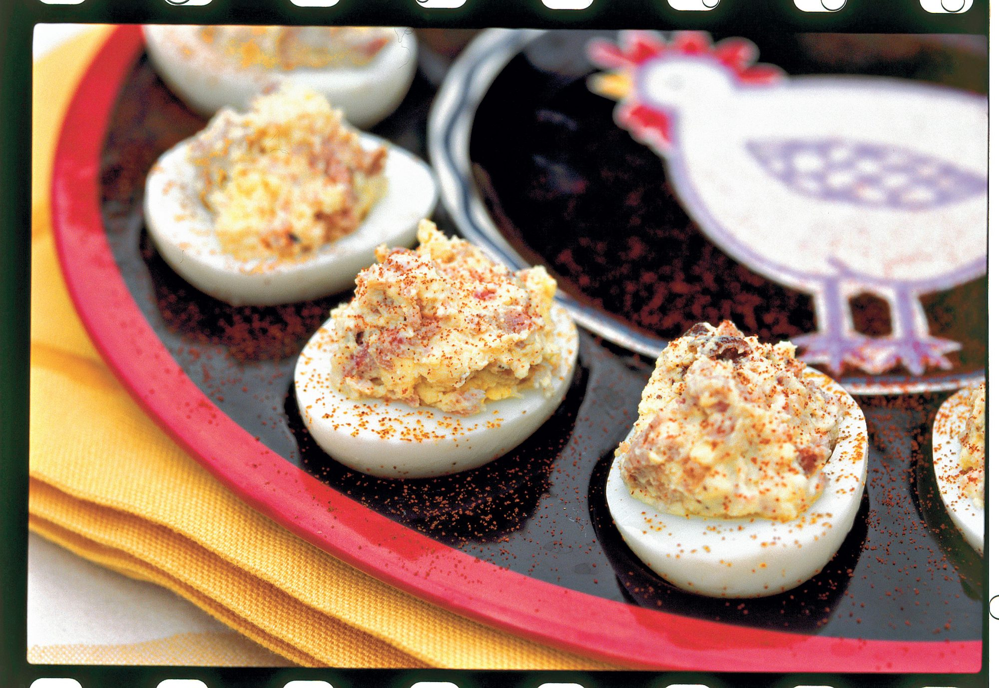Barbecue Deviled Eggs Recipe