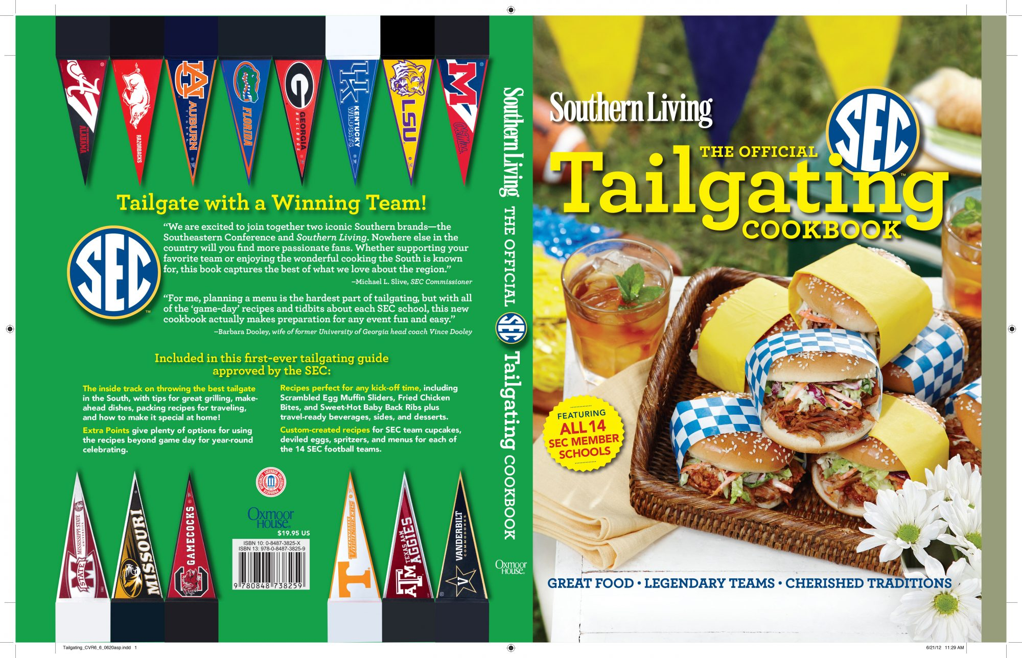 The Official SEC Tailgating Cookbook