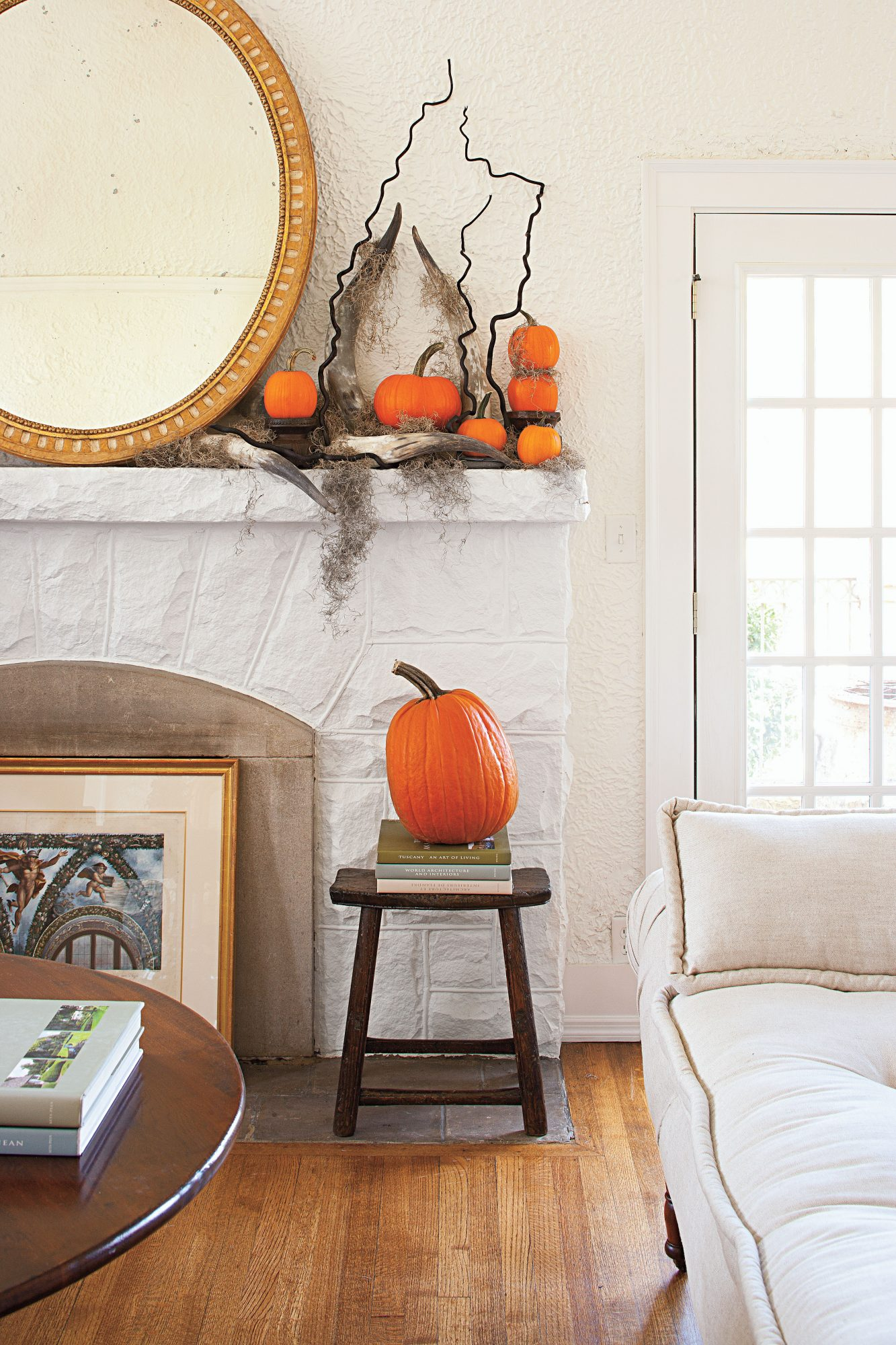 Transform Your Mantel for Halloween