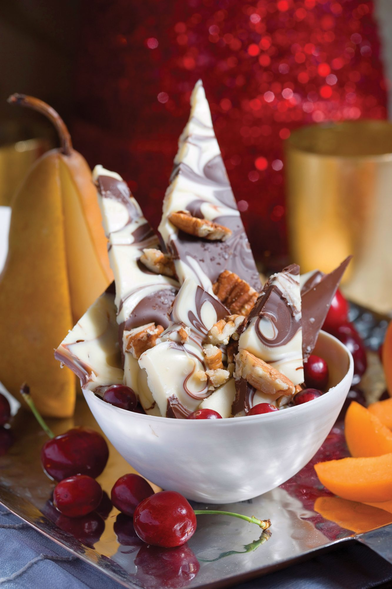 Salty Chocolate-Pecan Christmas Candy Recipe