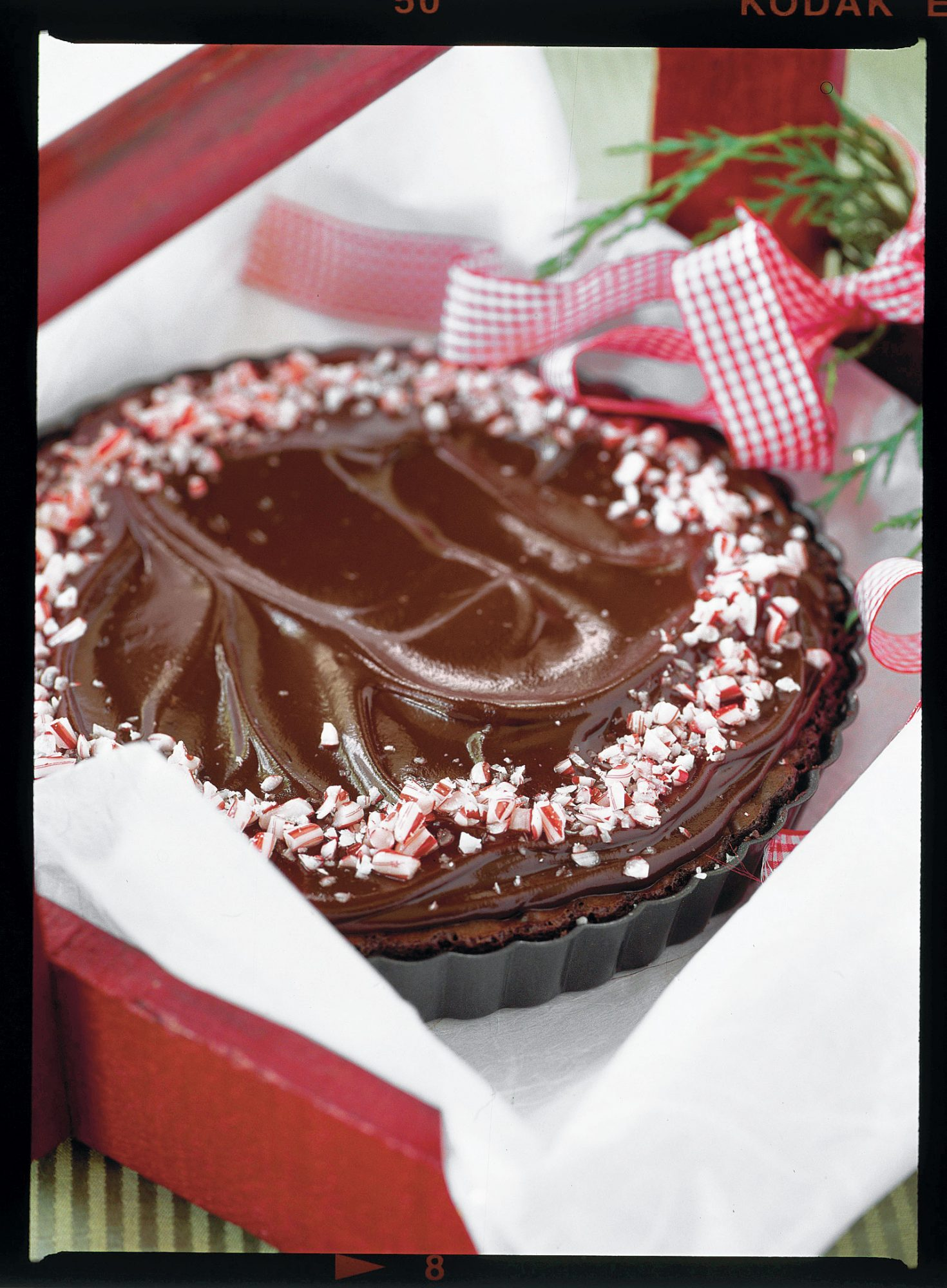 Peppermint Brownie Tarts Recipe