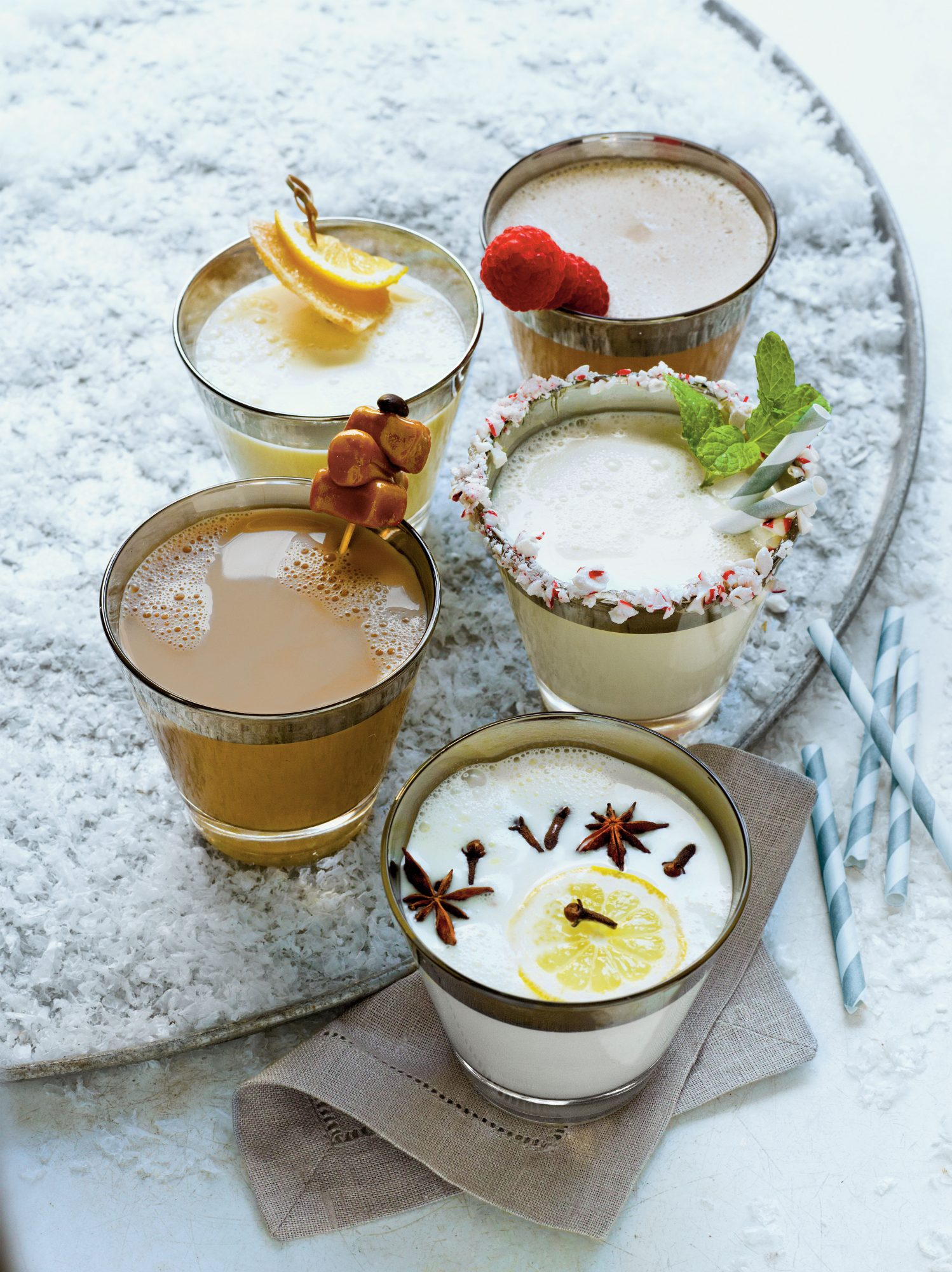 Ginger-Vanilla Milk Punch Southern Living