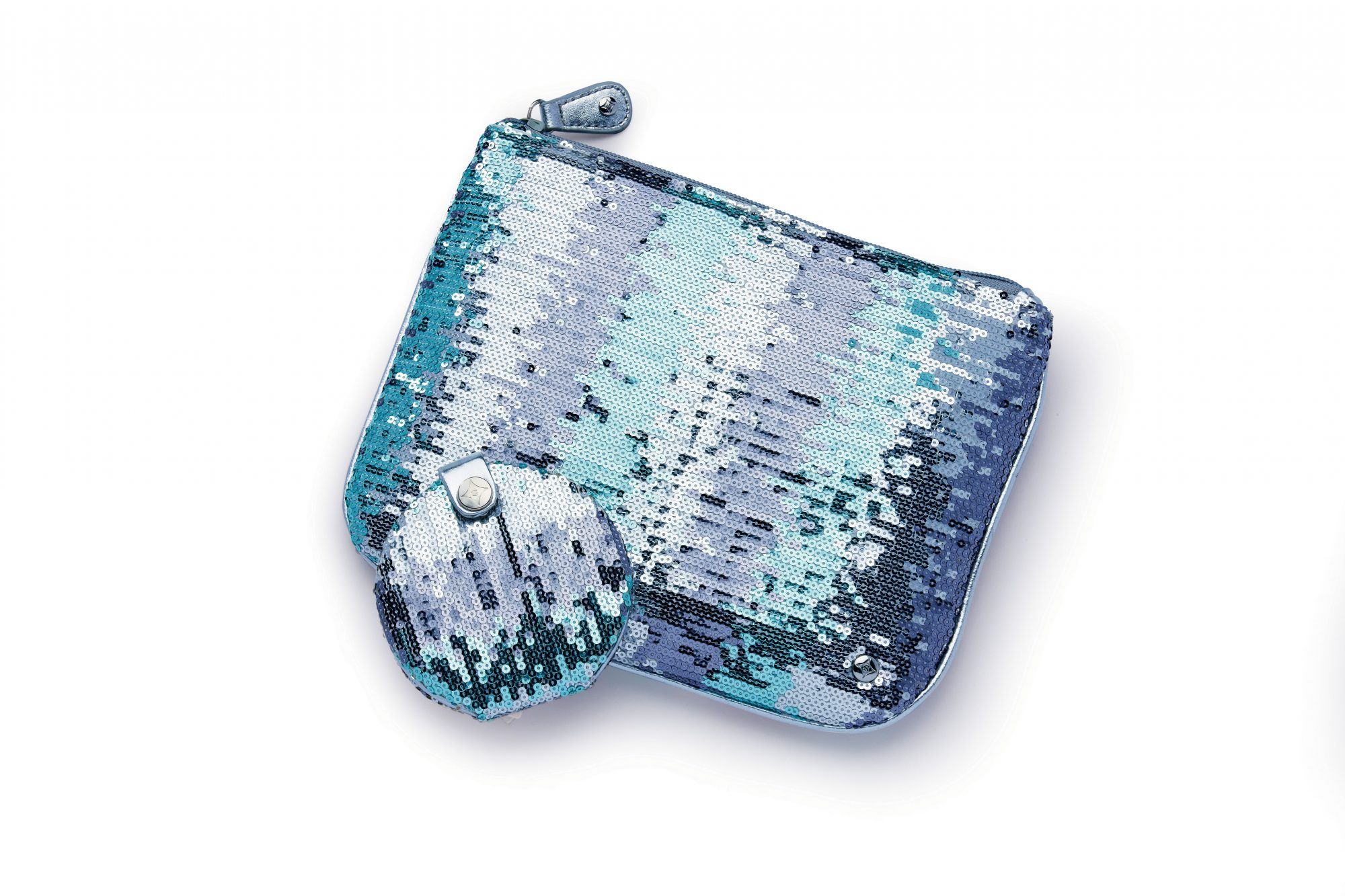 Sparkly Pouch and Compact