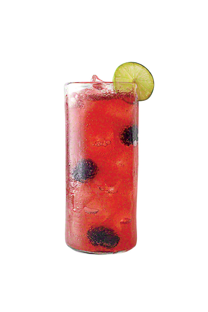 Blackberry-Lime Agua Fresca