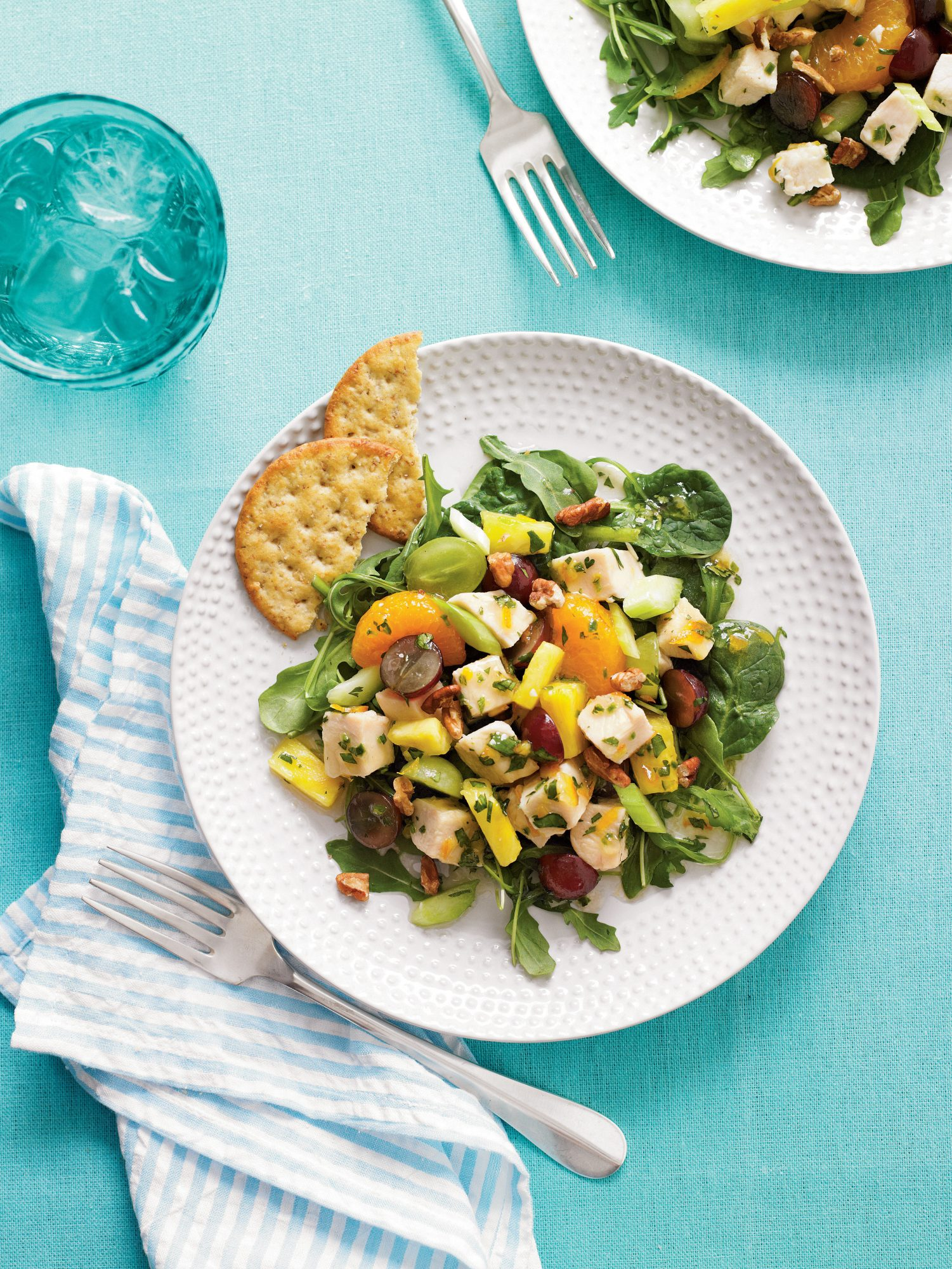 Mixed Fruit Chicken Salad