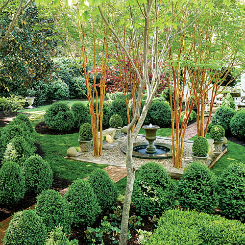 The Boxwood Parterre
