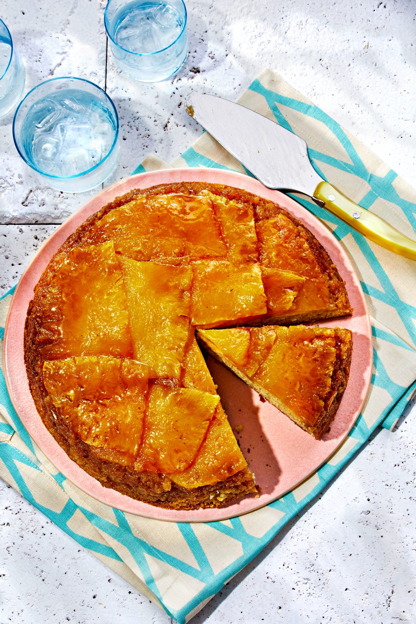 Pineapple-Ginger Upside-Down Cake
