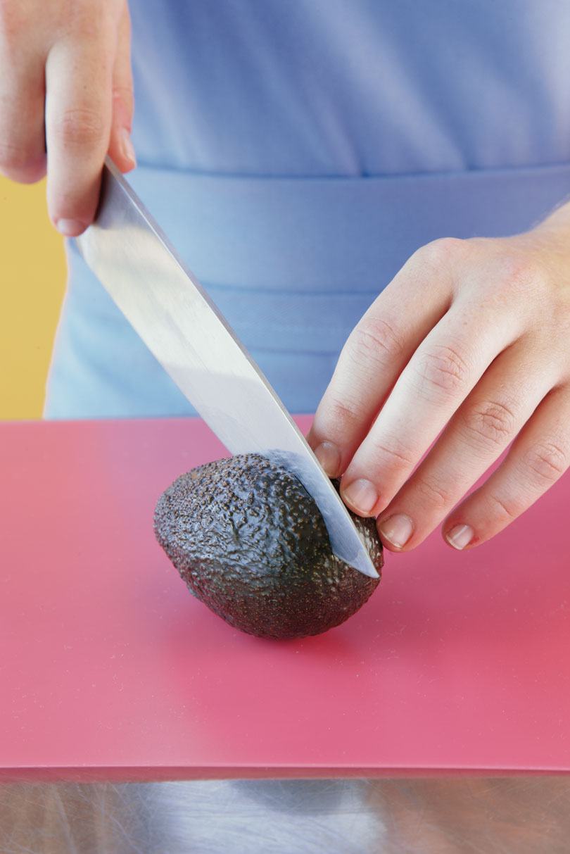 Step 1: Slice the Avocado