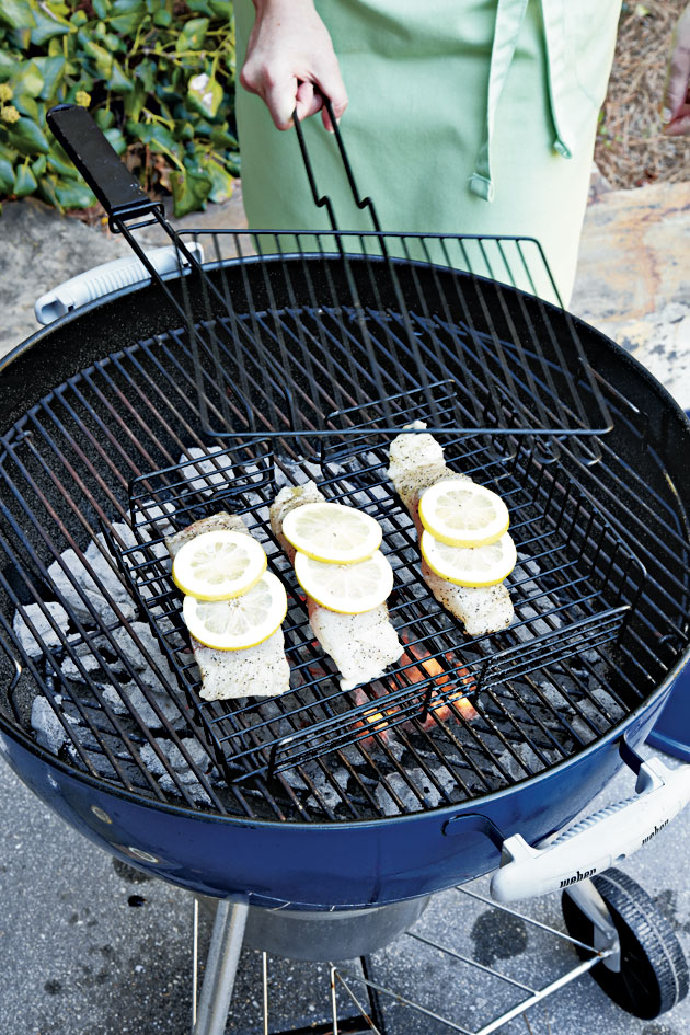 Step 3: Grill Basket Option