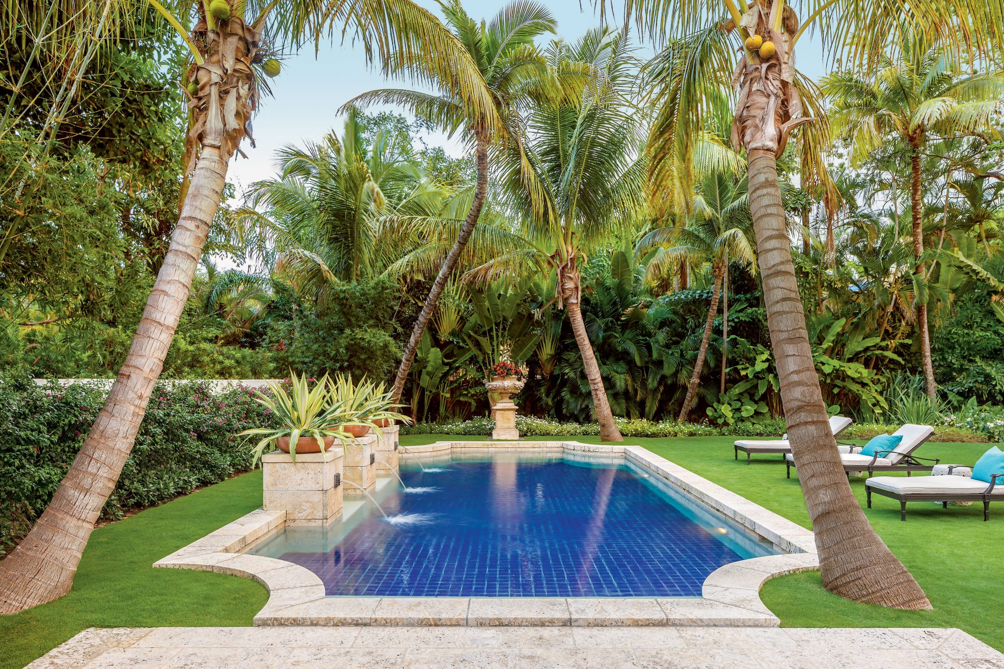 Lush Private Coral Gables Garden