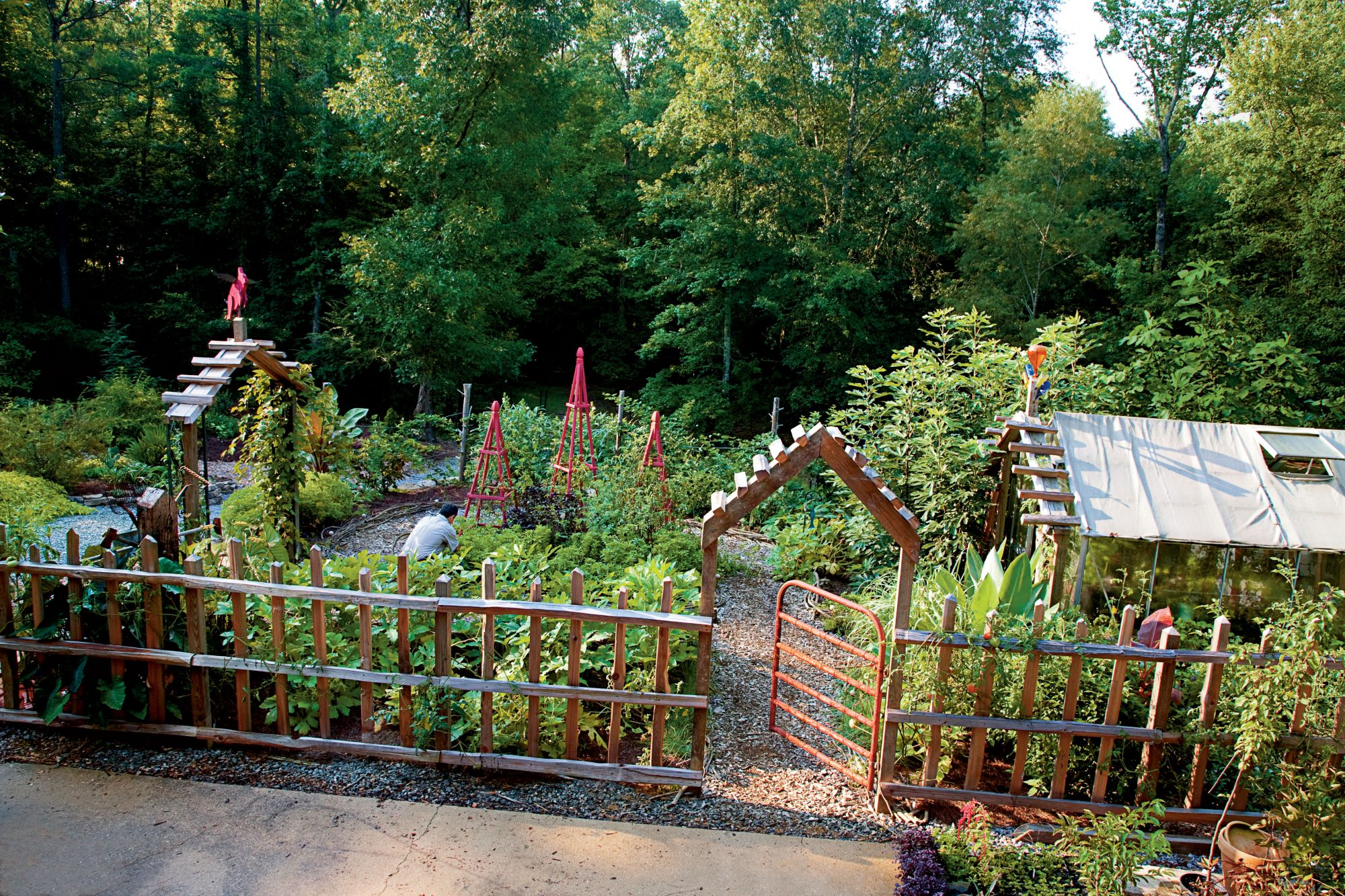 Vegetable Garden Gate