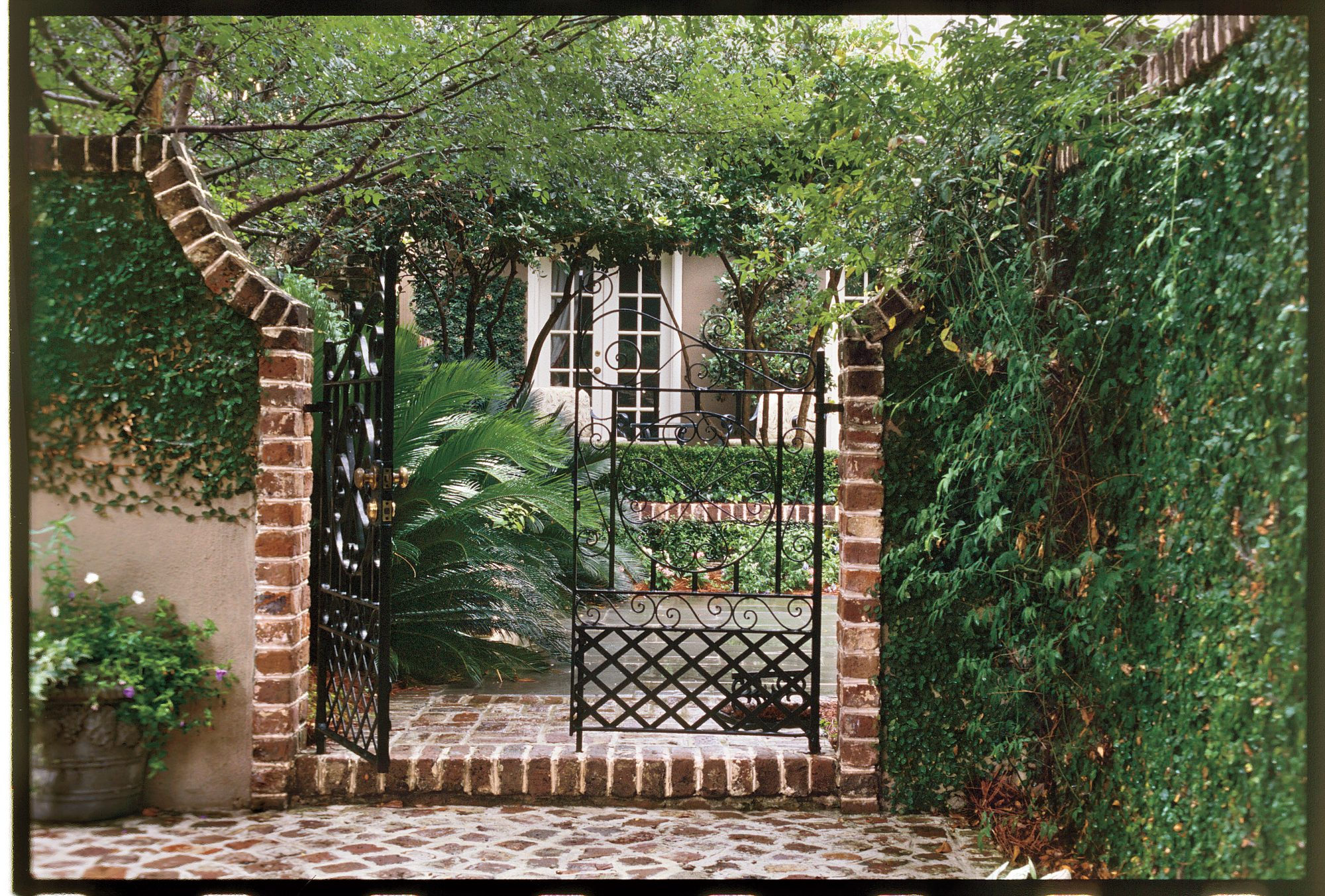 Welcoming Courtyard