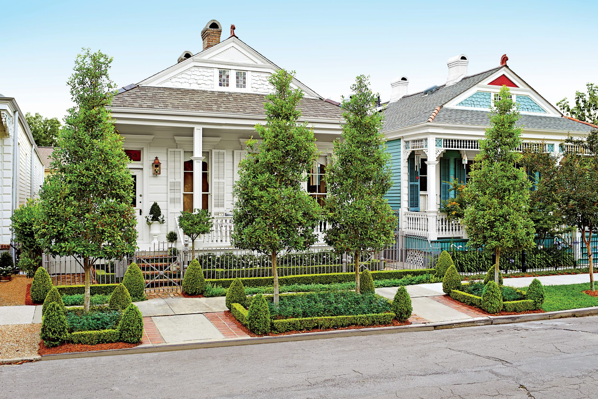 New Orleans Cottage Exterior After
