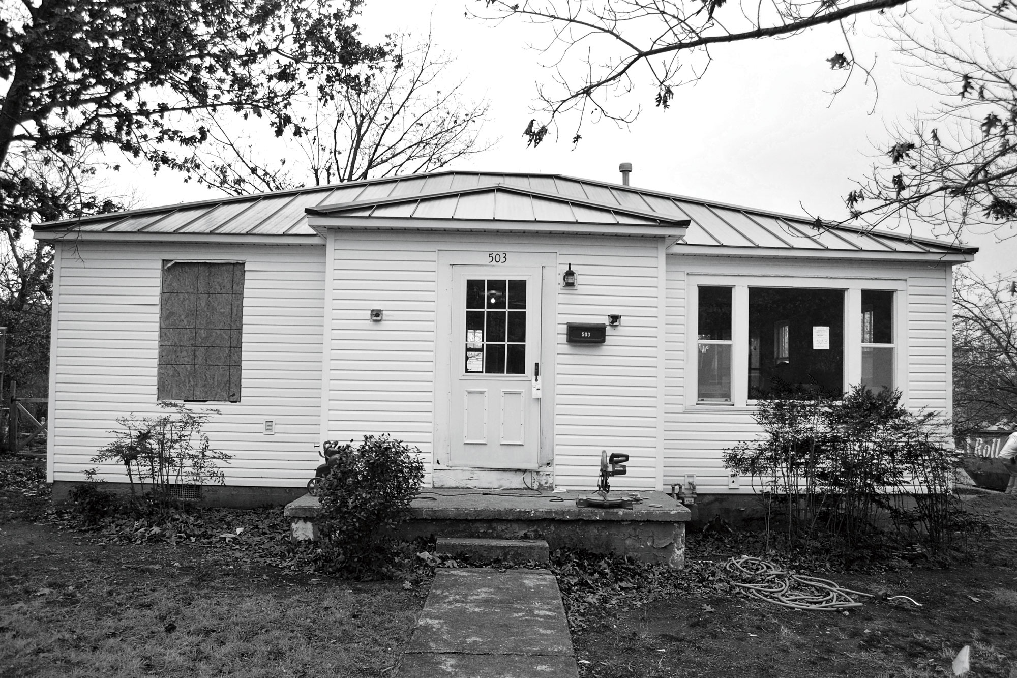 Arkansas Cottage Exterior Before