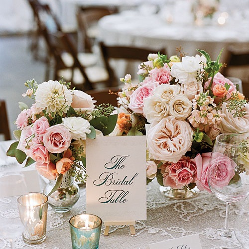Romantic Vintage Centerpiece