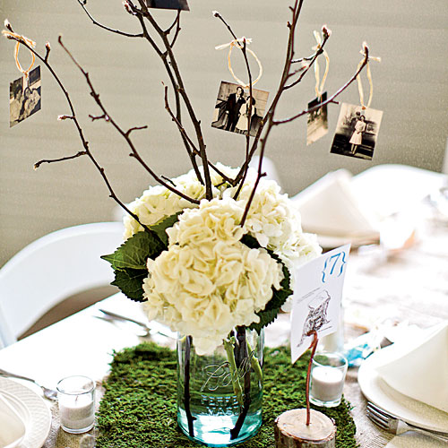 Creative Photo Centerpiece