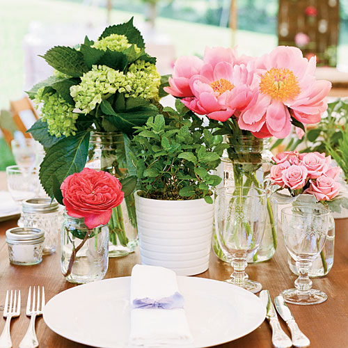 Simple Garden Centerpiece