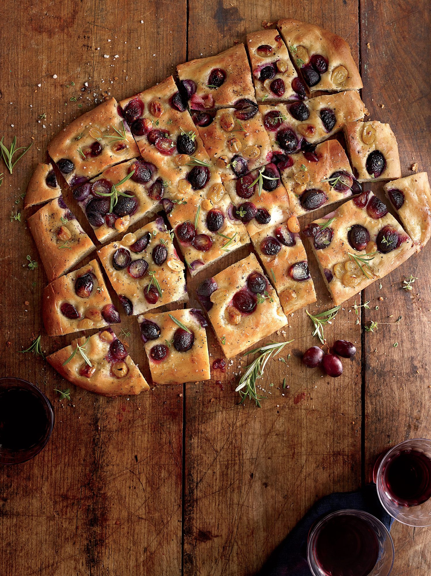 Grape Focaccia