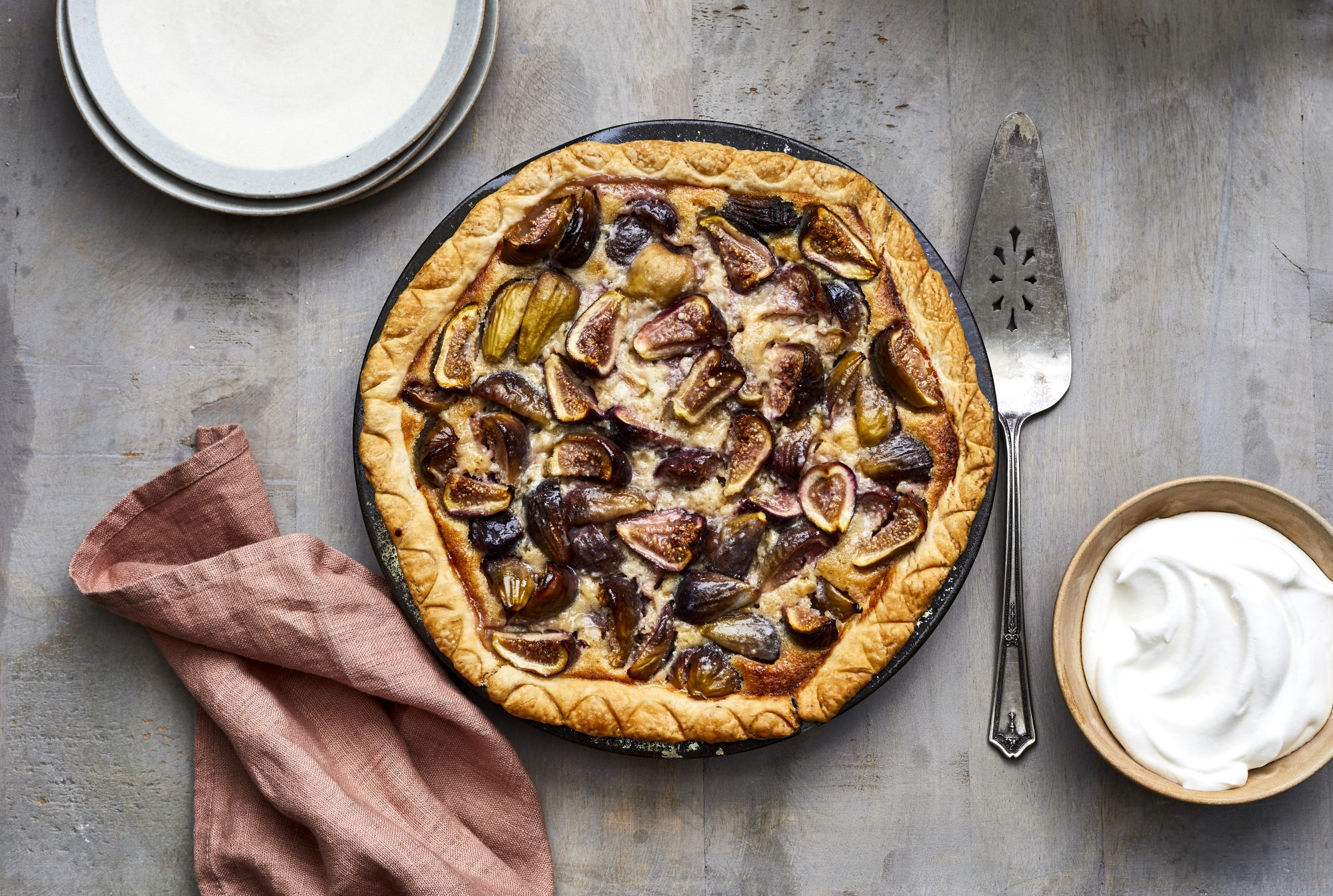 September: Fig Pie