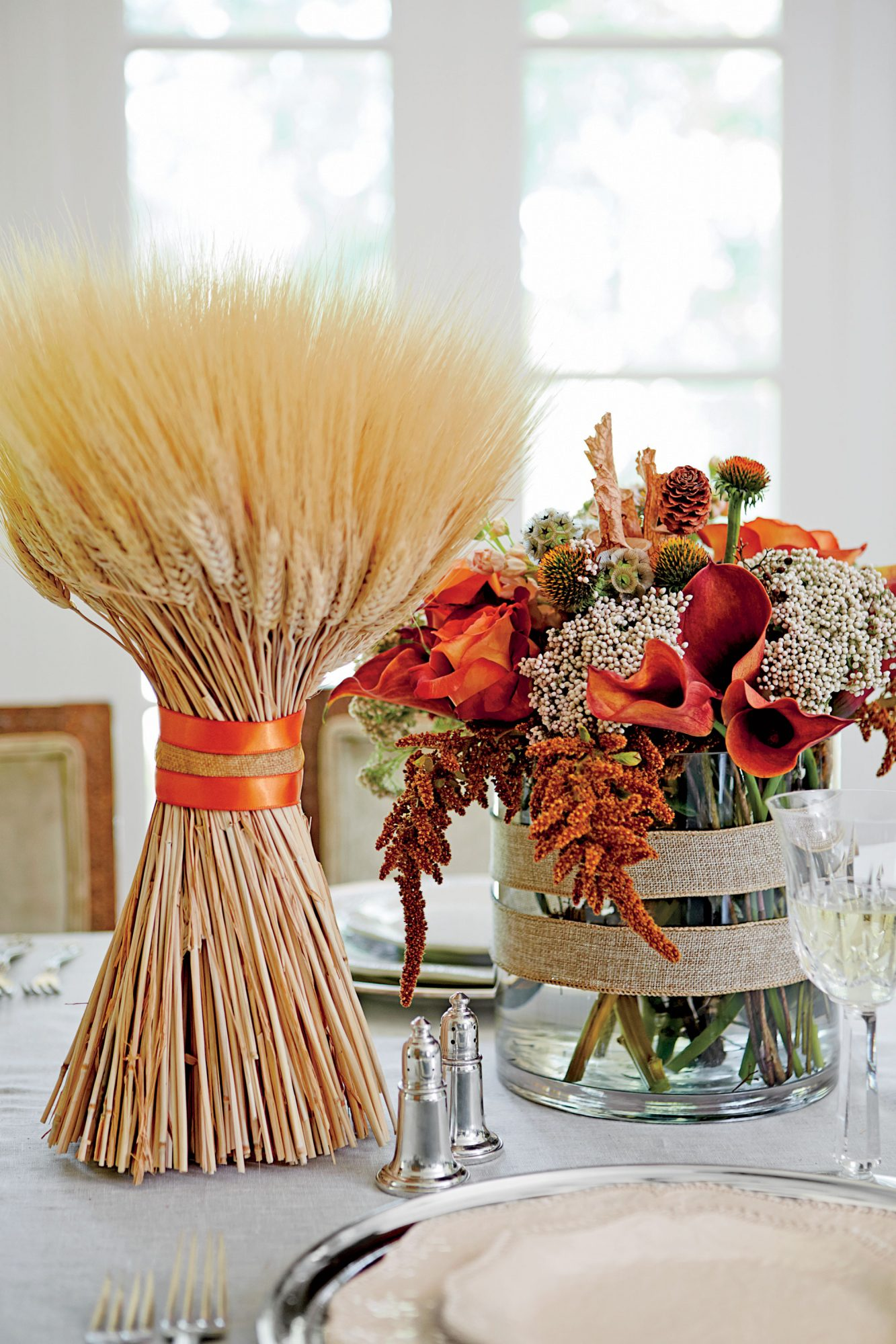 Warm and Natural Centerpiece