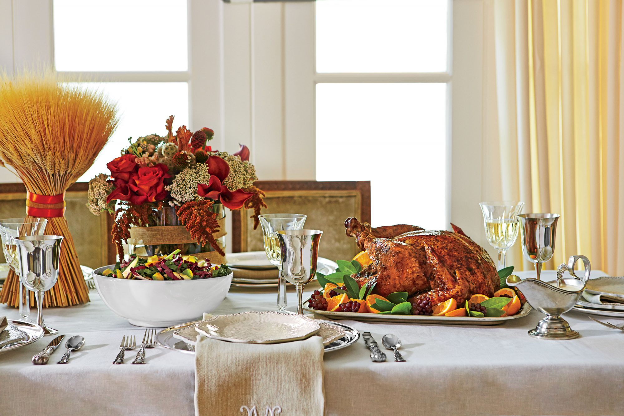 Get the Menu: Fresh & Modern Thanksgiving Menu