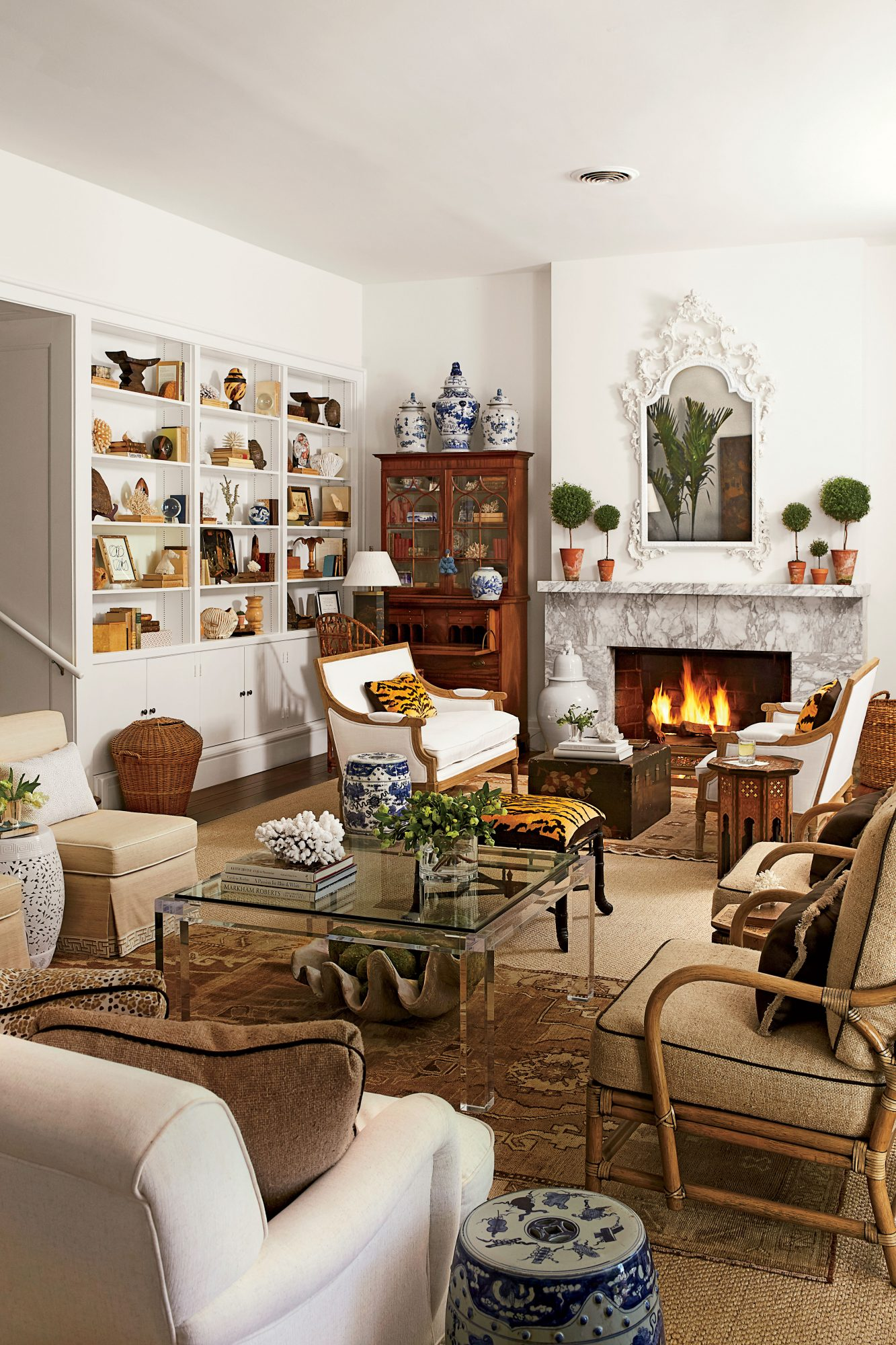 Allison Allen Neutral Living Room