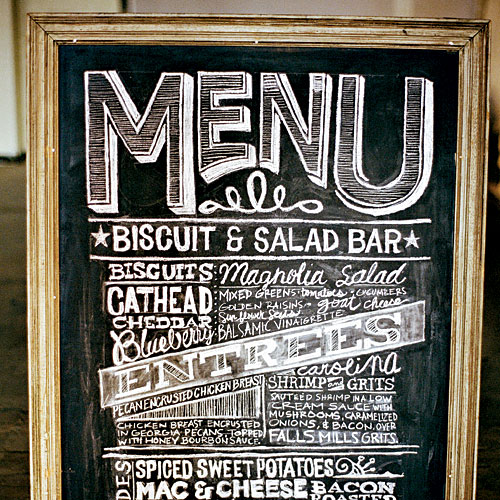 Playful Menu Graphics