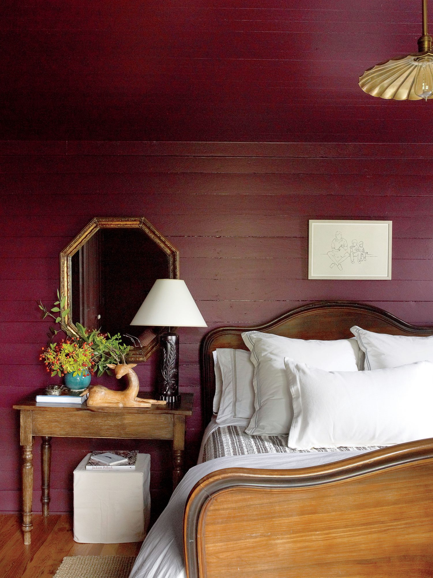 Putnam Purple Guest Bedroom