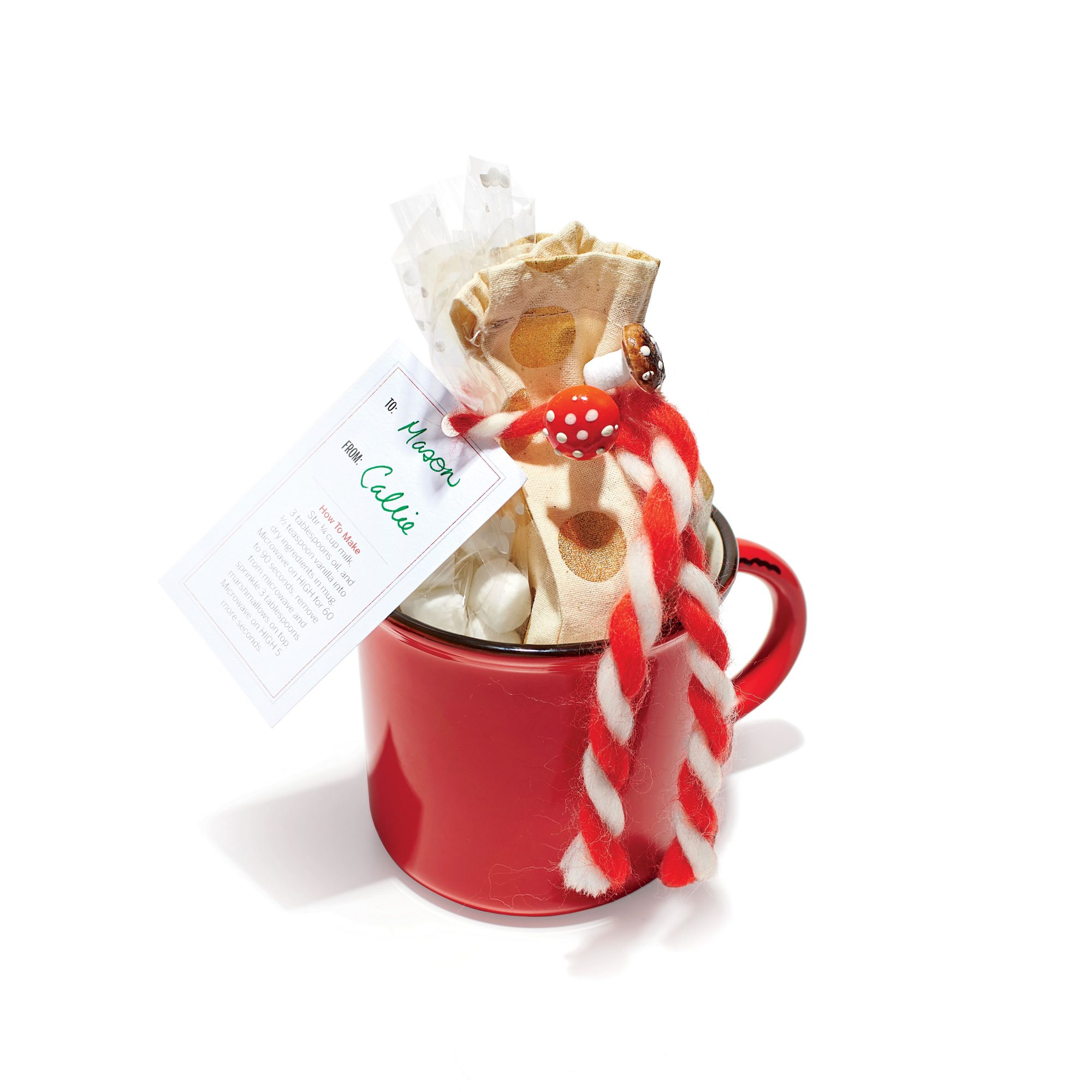 Mexican Hot Chocolate Food Gift Tag