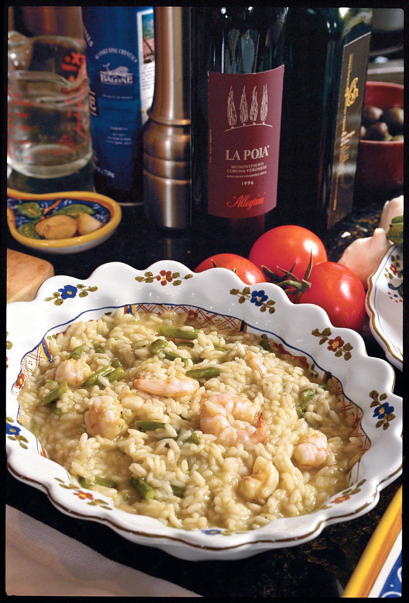 Risotto with Shrimp and Asparagus