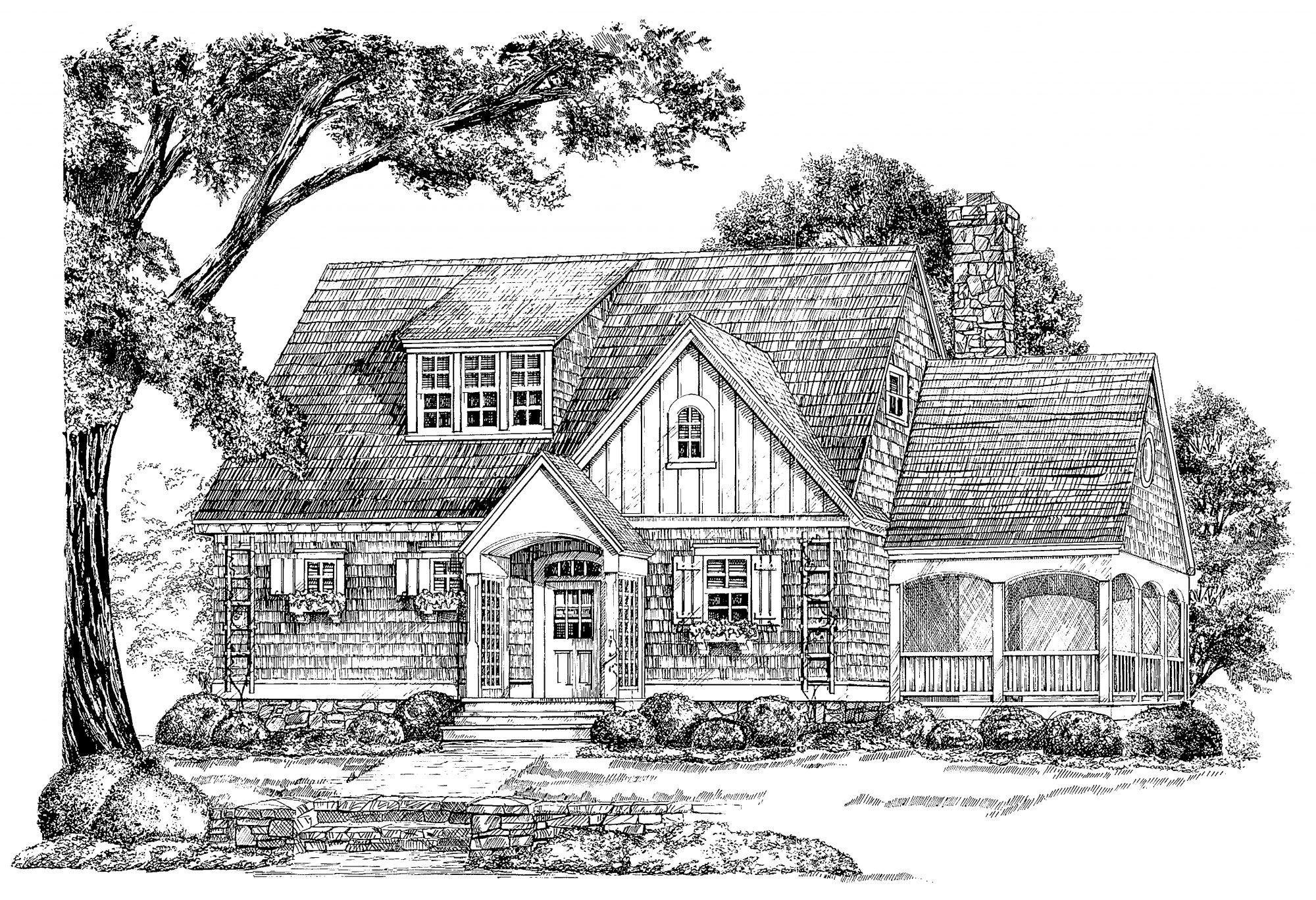 The Sage House, Plan #947