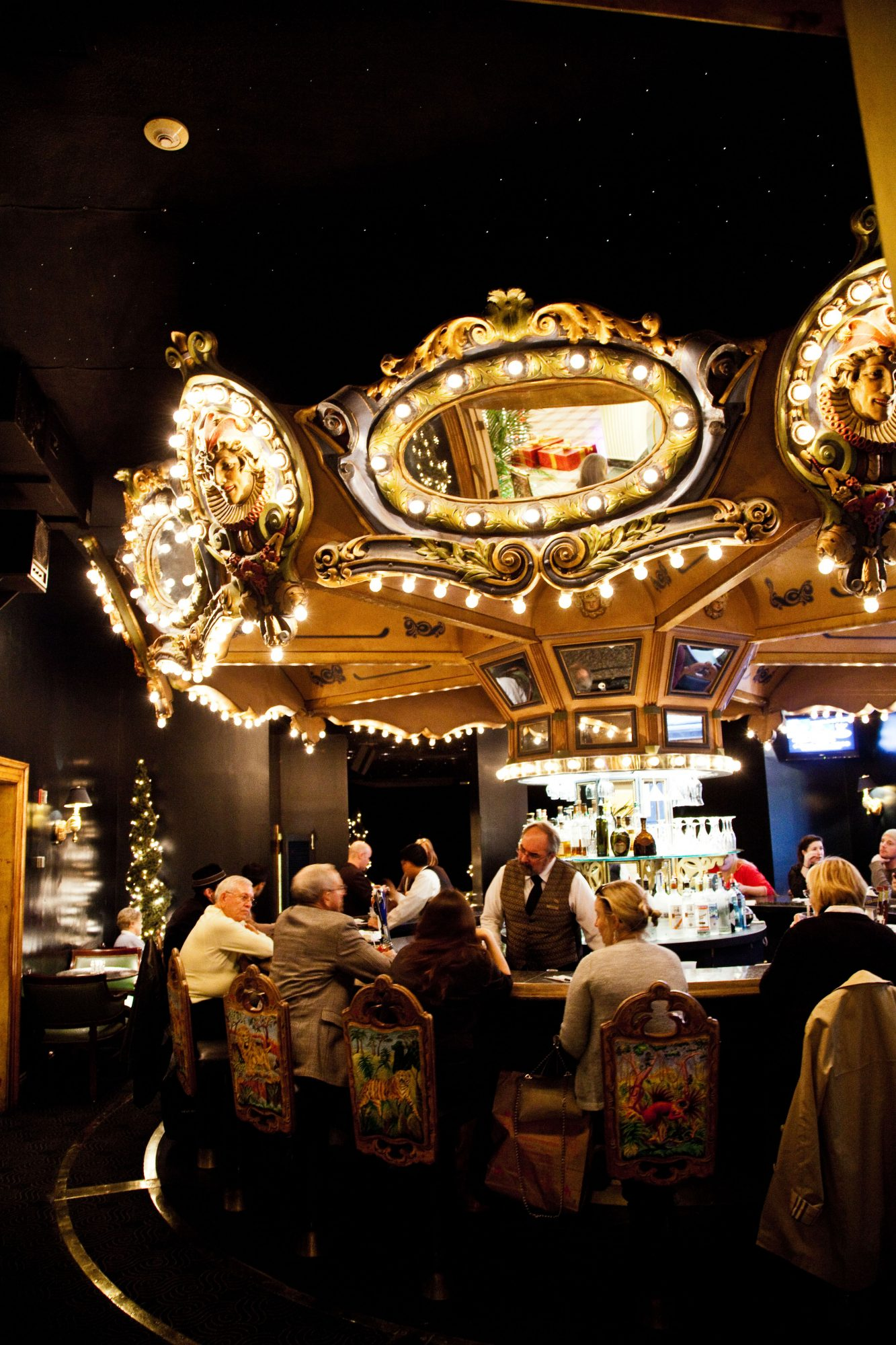 The Carousel Bar & Lounge in Hotel Monteleone, New Orleans, Louisiana