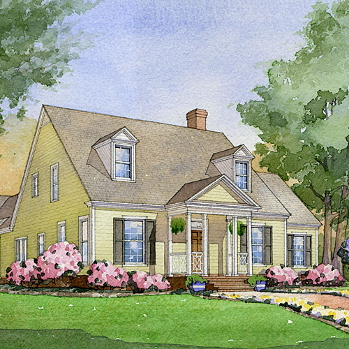 Cold Spring Lane, Plan #1416