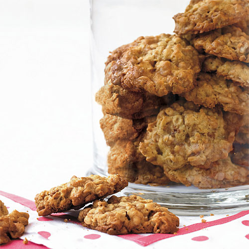 Oatmeal-Toffee Cookies