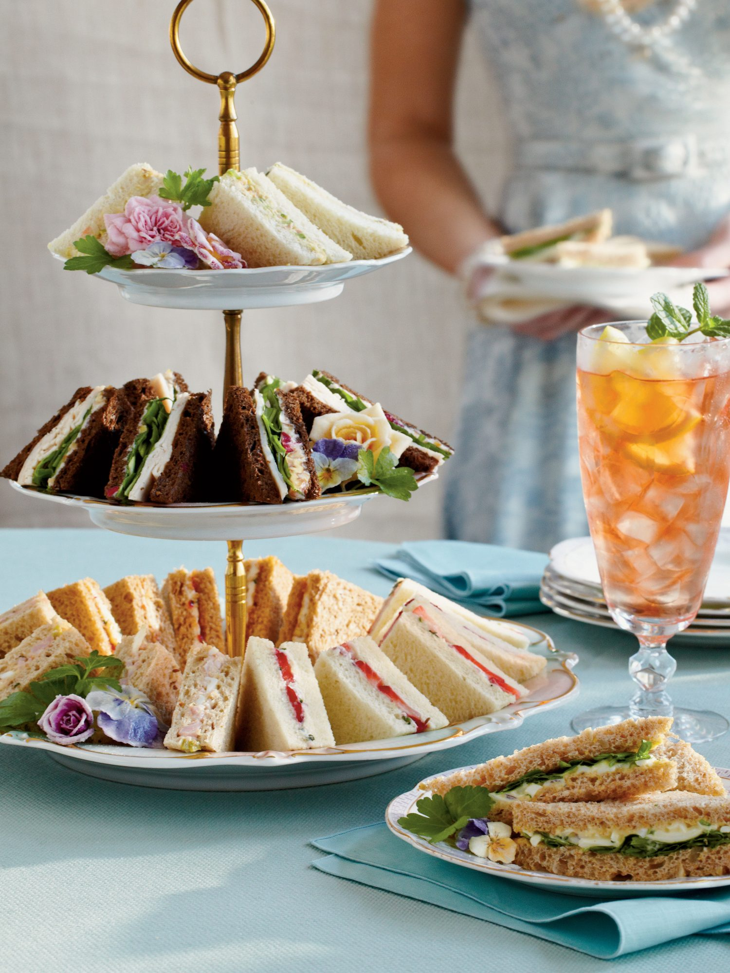 Crowd-Pleasing Tea Sandwiches