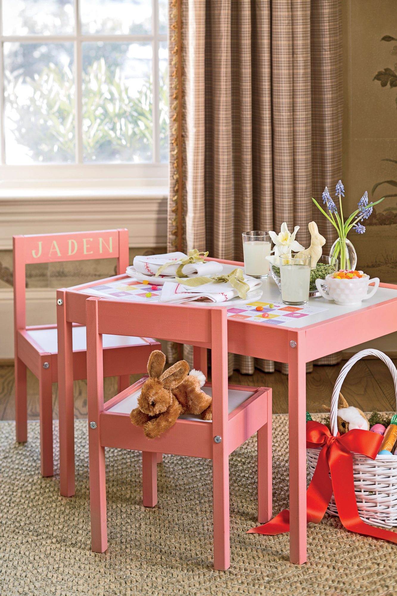 Kid's Easter Table