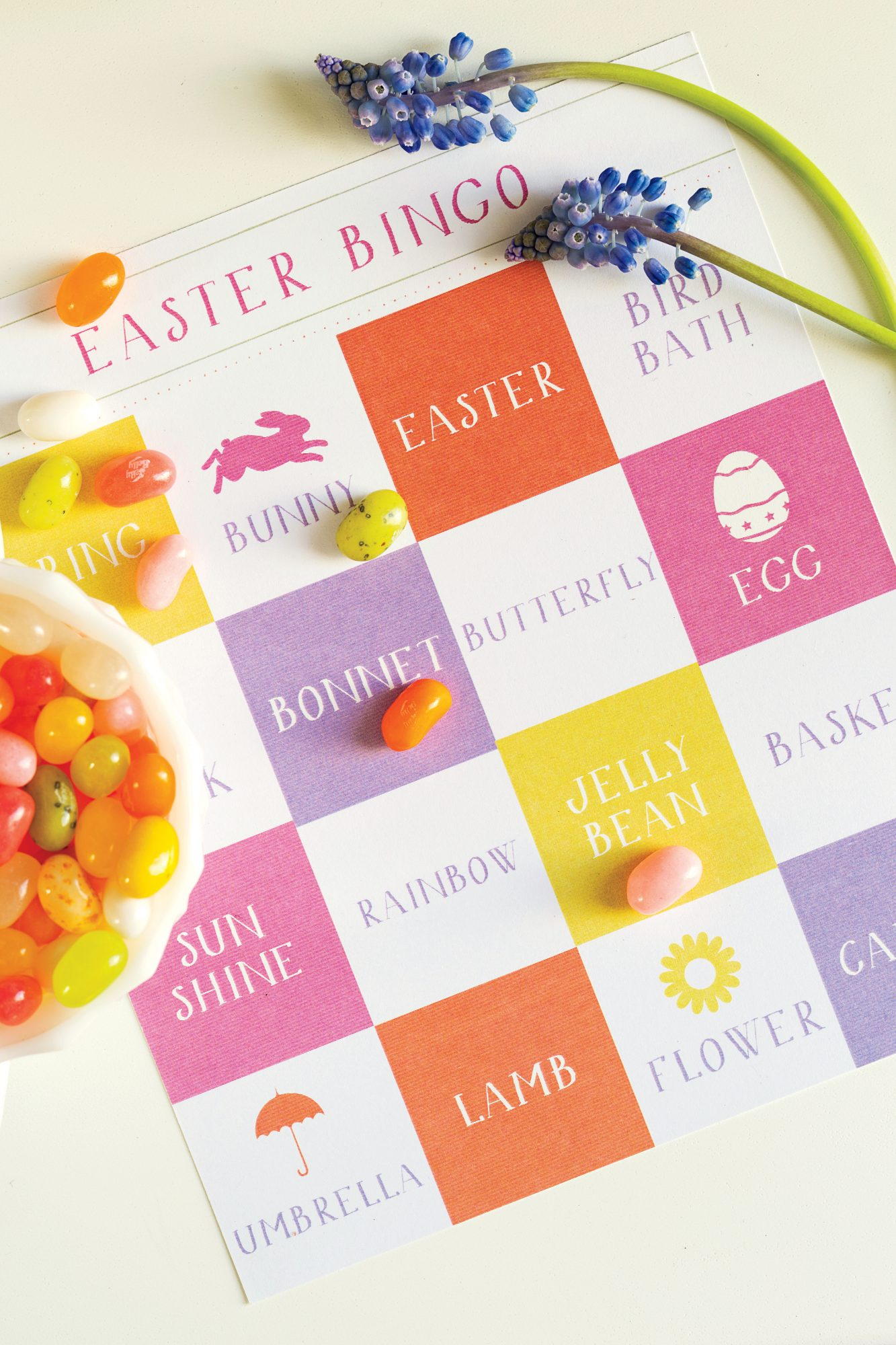 Printable Easter Bingo