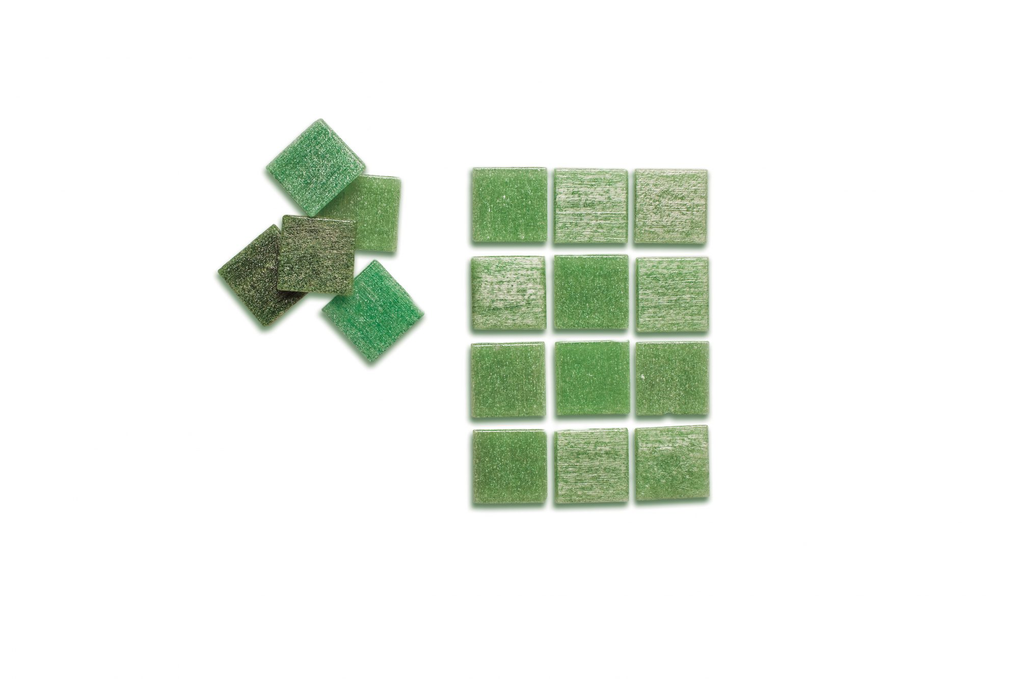 Inspired by our Vintage Kitchen: Green Glass Tile