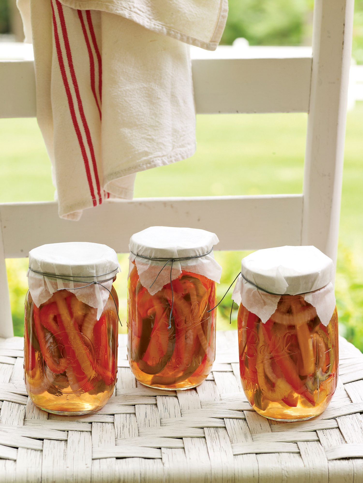 Pickled Peppers & Onions