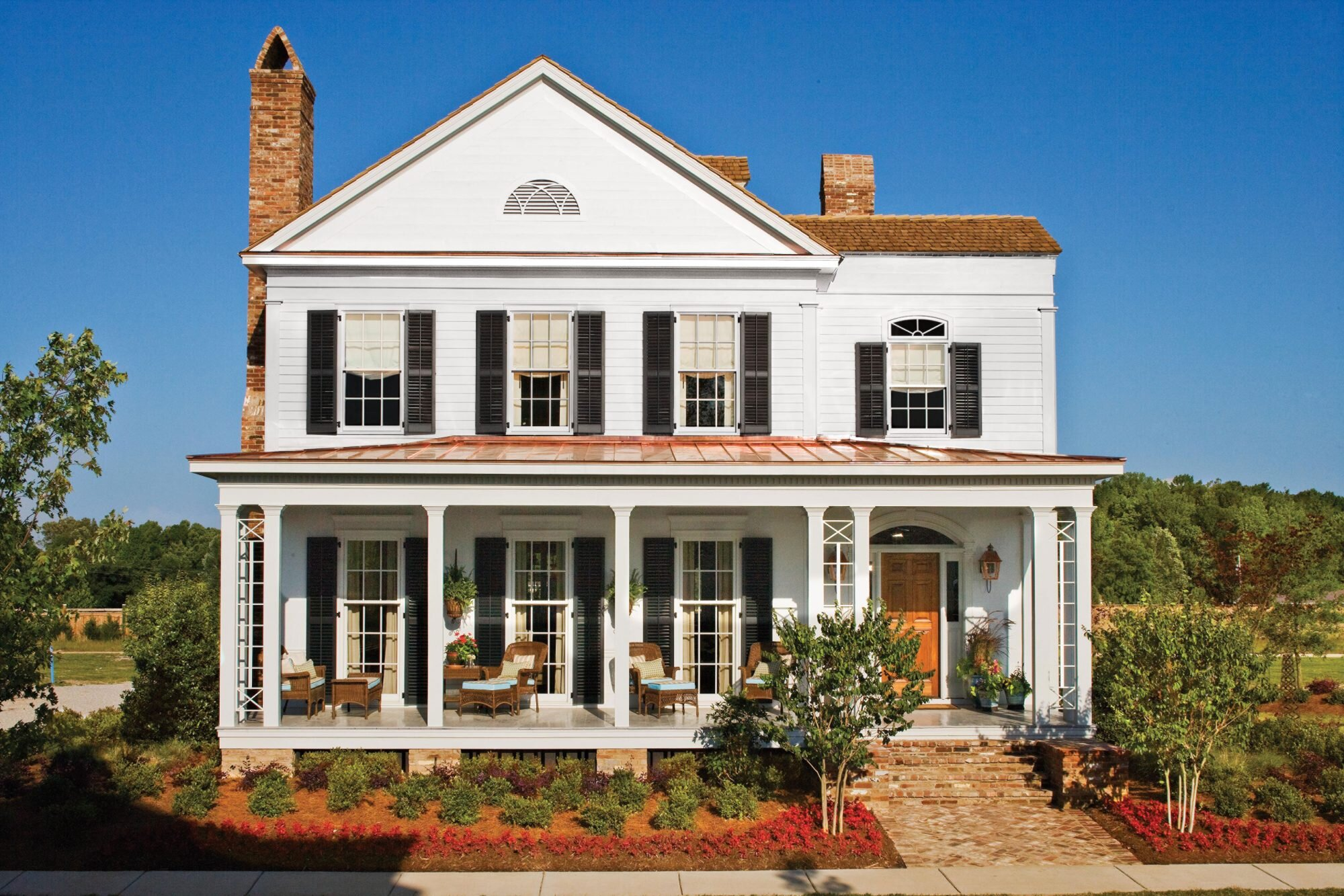 Pretty House Plans with Porches on