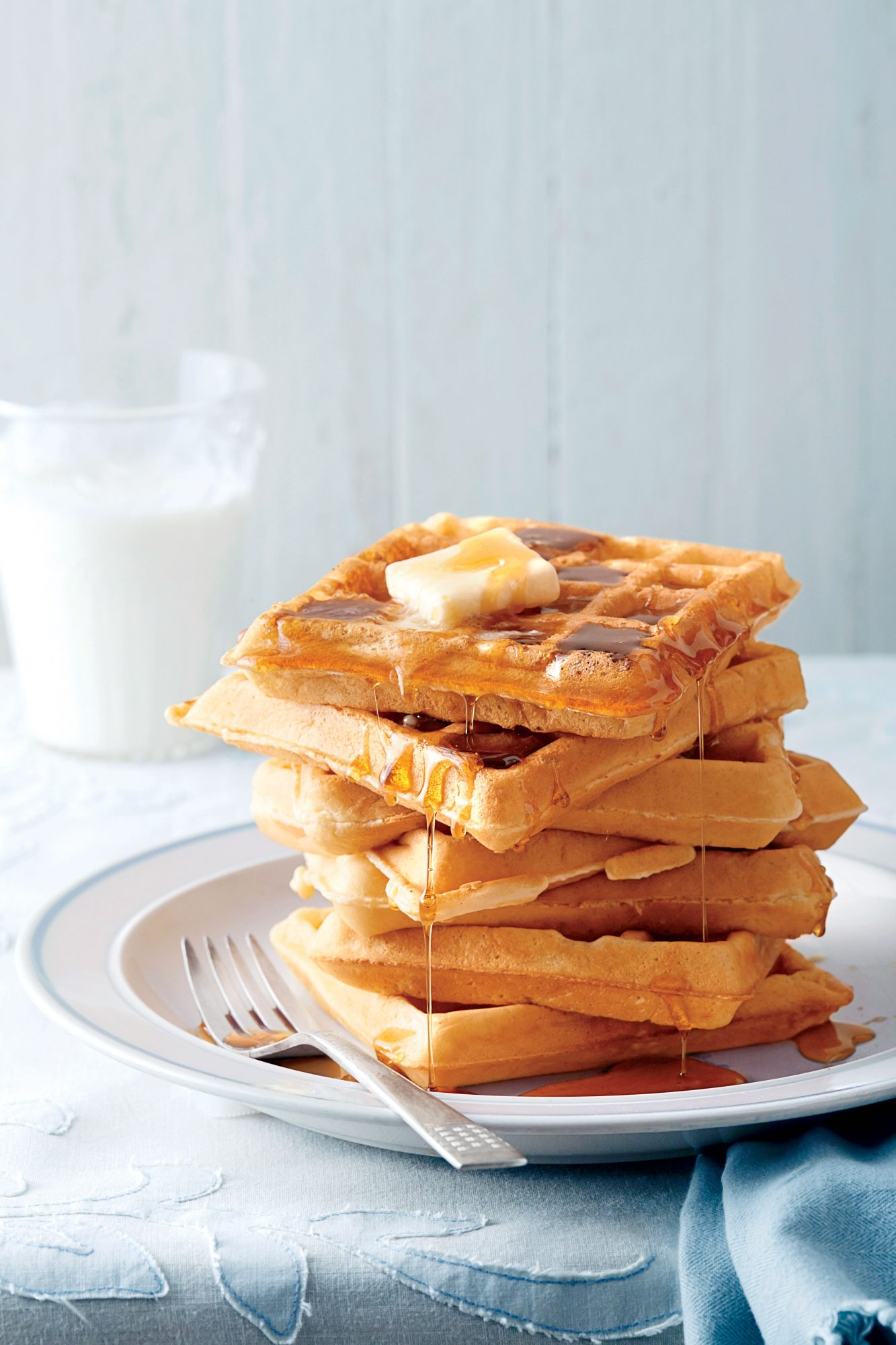 Fluffy Buttermilk Waffles