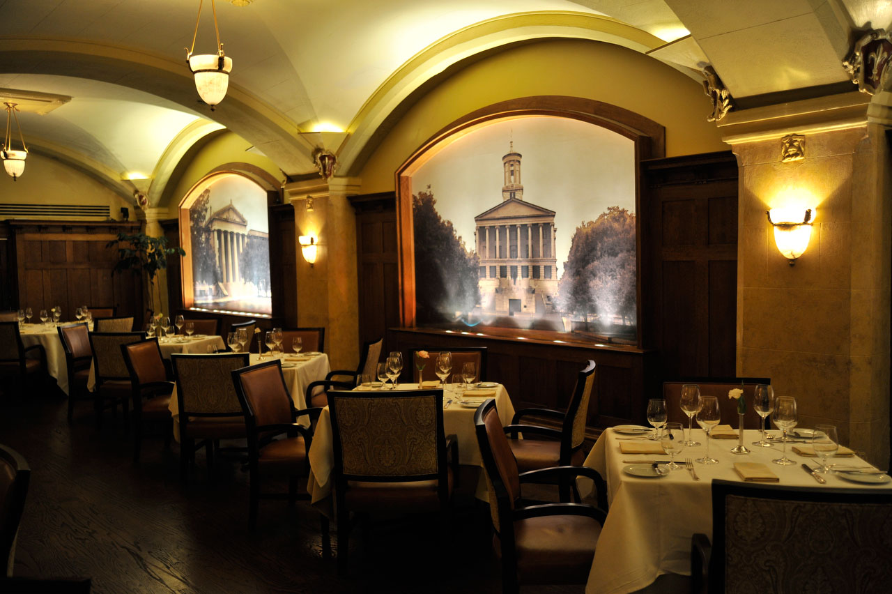 Capitol Grille Restaurant Nashville Tennessee