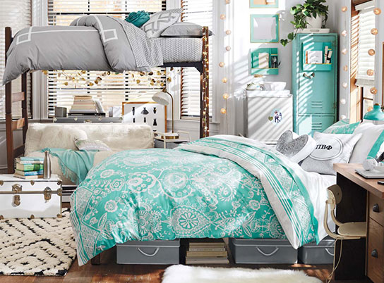 Girly Dorm Room
