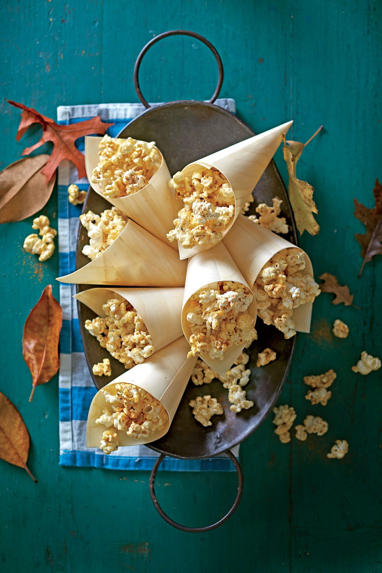 Sugar-and-Spice Caramel Popcorn Party Recipe