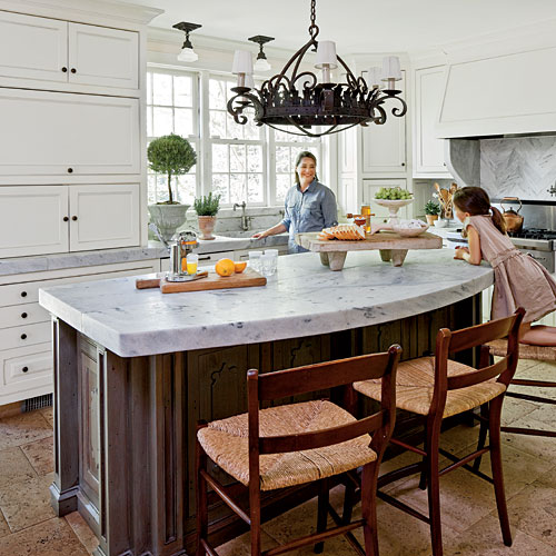 Marble Countertop and Island