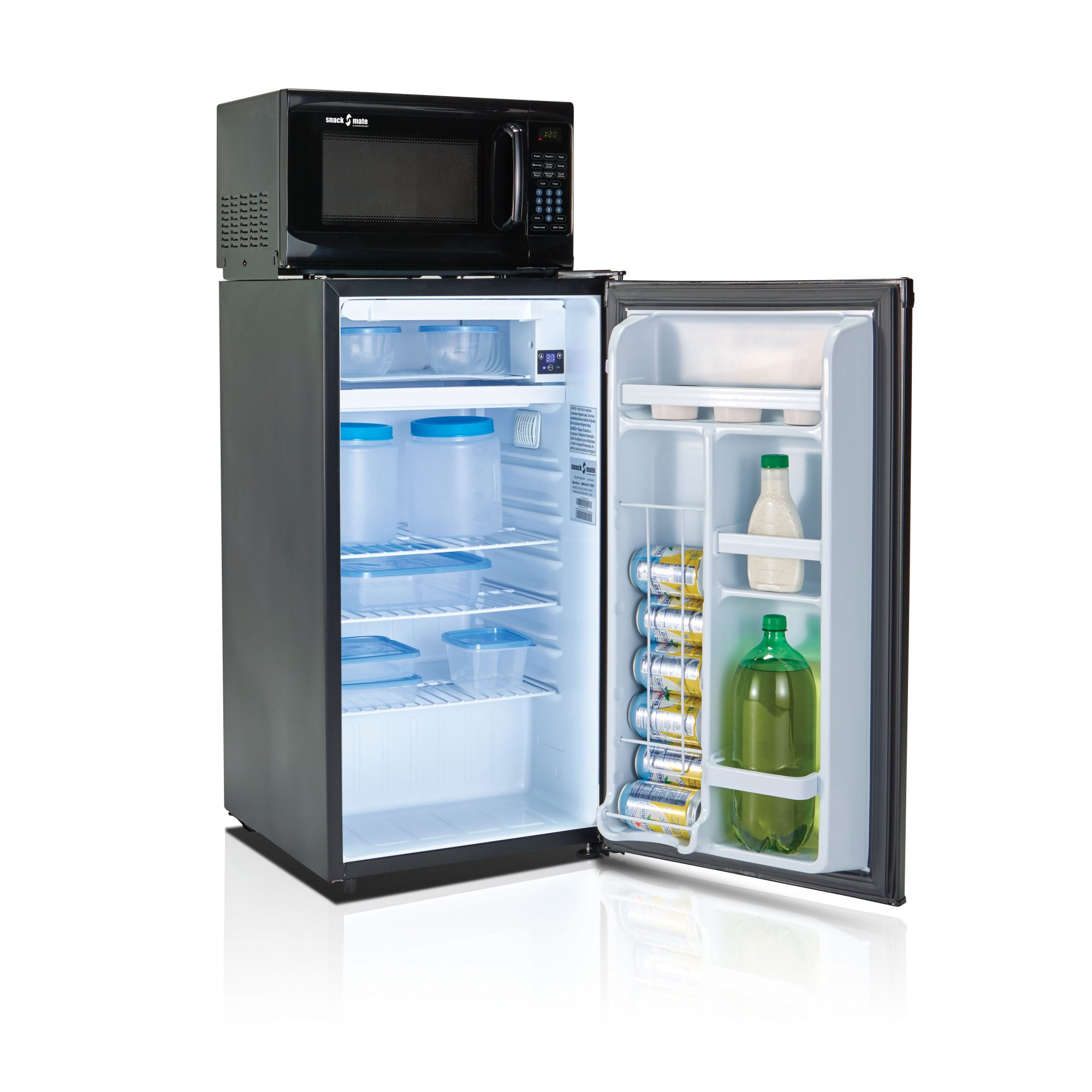 Snackmate Combination Mini Refrigerator and Microwave