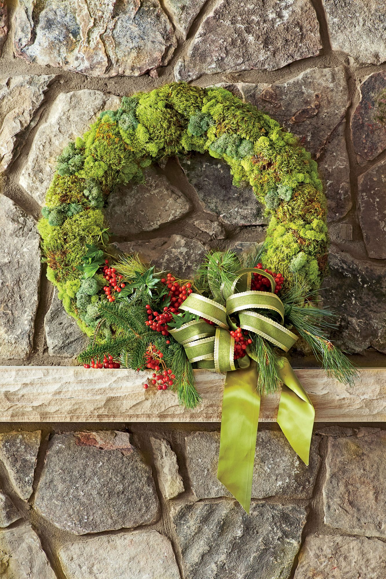 Organic Christmas Wreath