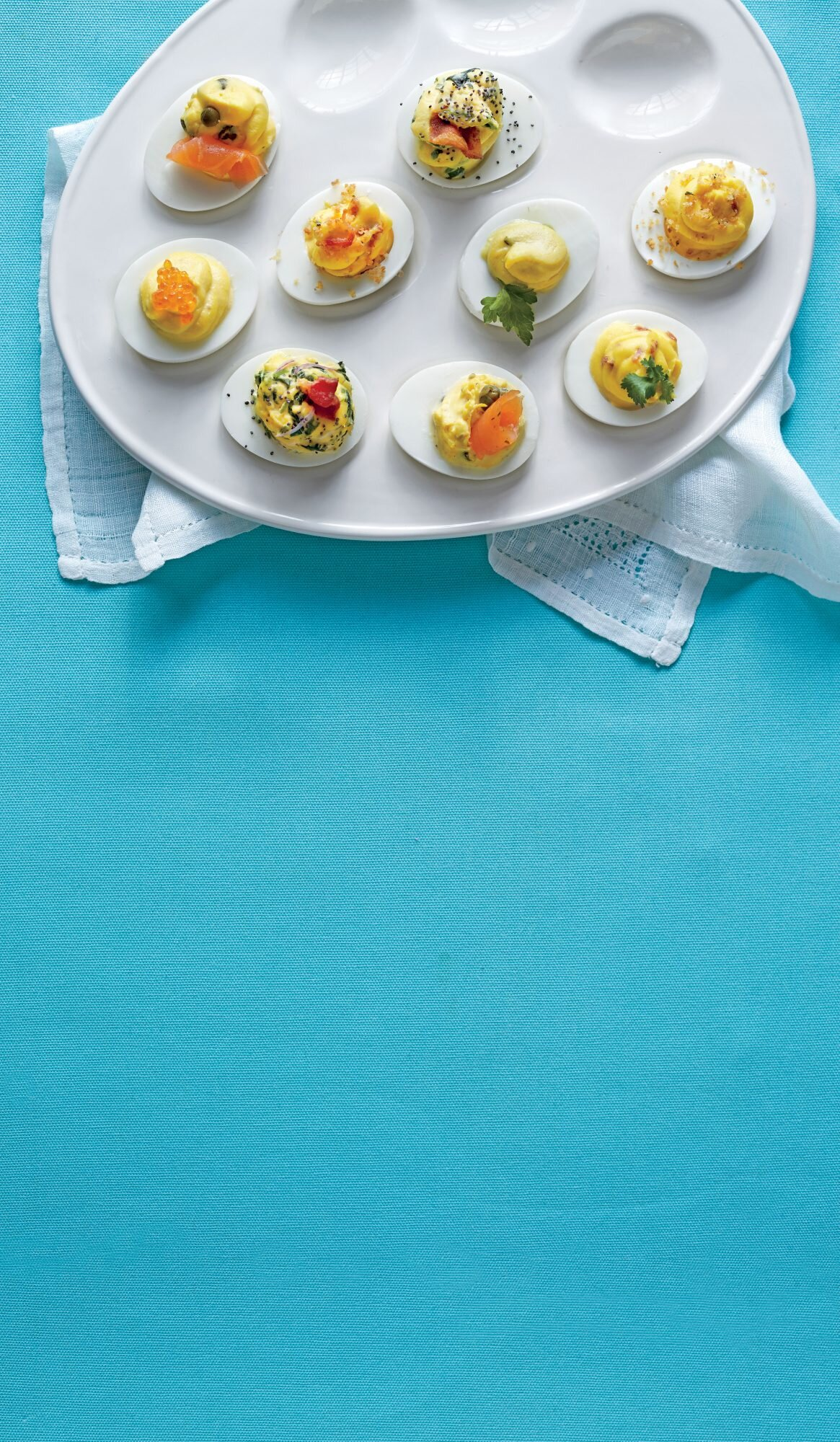 Country Ham Breadcrumb Deviled Eggs Recipe Southern Living