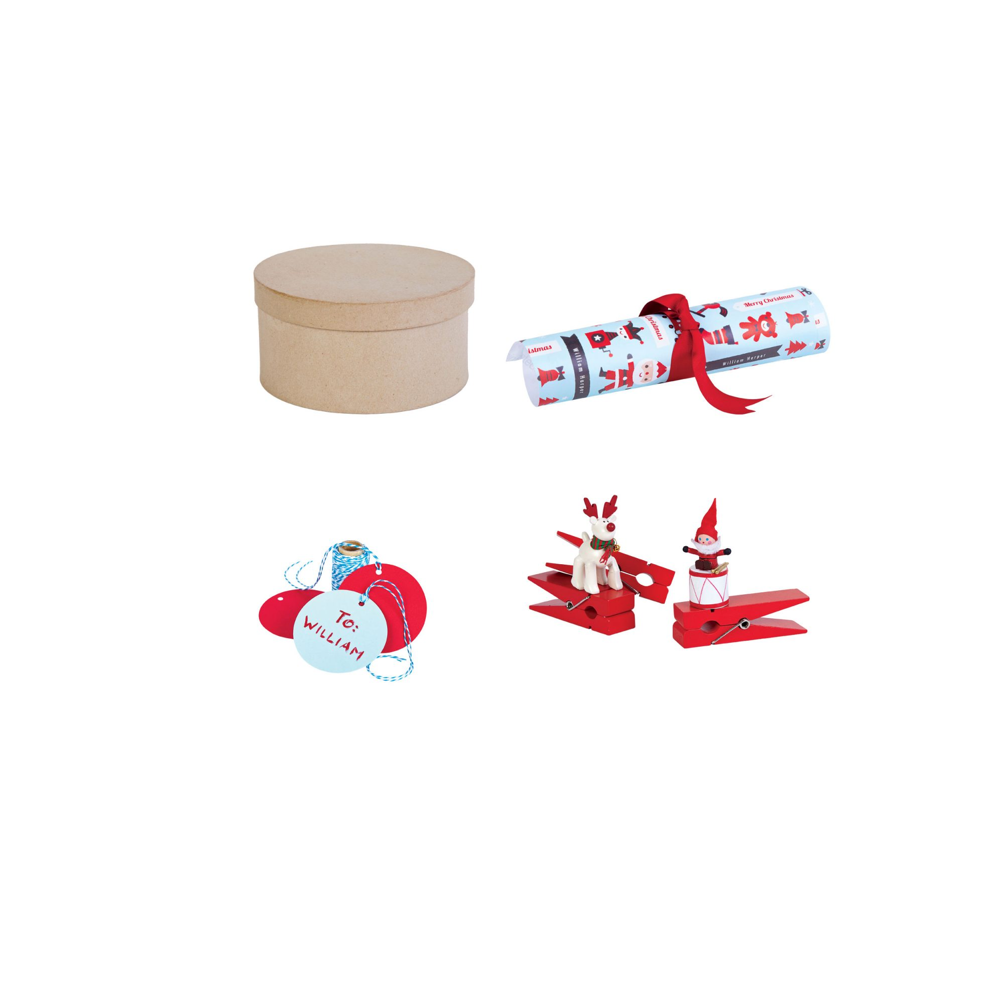 Toy Wrapping Container