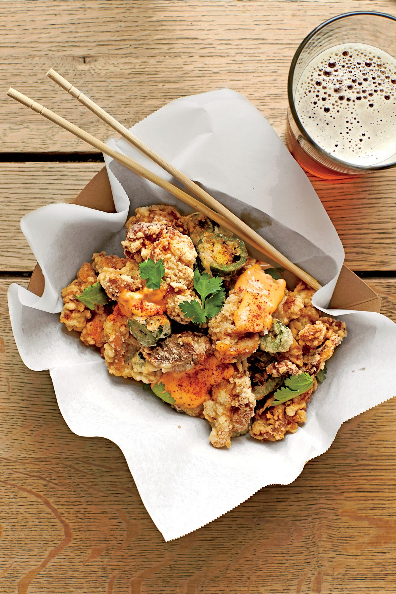 Lemongrass Fried Chicken